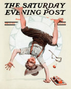 Norman Rockwell - Summer Vacation (Boy Doing Handspring), 1923