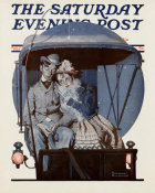 Norman Rockwell - Moonlight Buggy Ride, 1925