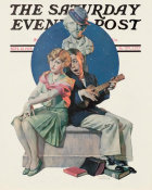 Norman Rockwell - Serenade height=