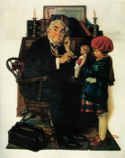Norman Rockwell - Doctor and the Doll, 1929