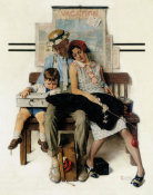 Norman Rockwell - Home from Vacation, 1930