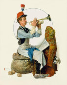Norman Rockwell - Trumpeter