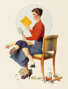 Norman Rockwell - Child Psychology