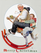 Norman Rockwell - Rocking Horse