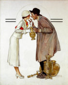 Norman Rockwell - Antique Dealer