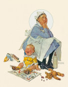 Norman Rockwell - The Nanny, 1936