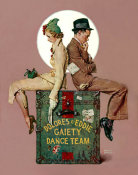 Norman Rockwell - Gaiety Dance Team, 1937