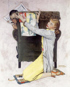 Norman Rockwell - Decorator, 1940