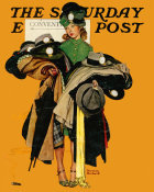 Norman Rockwell - Hat Check Girl