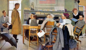 Norman Rockwell - Norman Rockwell Visits a Ration Board, 1944