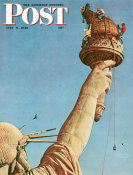 Norman Rockwell - Statue of Liberty, 1946