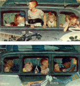 Norman Rockwell - Going and Coming