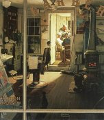 Norman Rockwell - Shuffleton's Barbershop height=