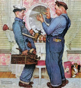 Norman Rockwell - The Plumbers