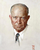 Norman Rockwell - The Day I Painted Ike