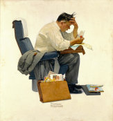 Norman Rockwell - The Expense Account, 1957