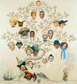 Norman Rockwell - Family Tree, 1959