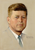 Norman Rockwell - John F. Kennedy height=