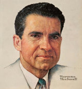 Norman Rockwell - Richard Milhouse Nixon