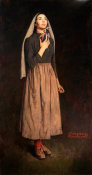 Norman Rockwell - Song of Bernadette