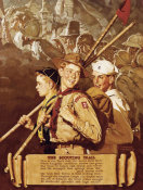 Norman Rockwell - The Scouting Trail, 1939