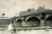 Norman Rockwell - Le Pont Neuf, 1932