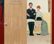 Norman Rockwell - Marriage Counselor, 1963