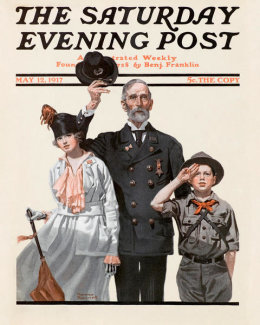 Norman Rockwell - Ready to Serve
