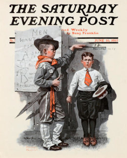 Norman Rockwell - Recruiting Officer