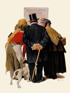Norman Rockwell - Stock Exchange Quotations
