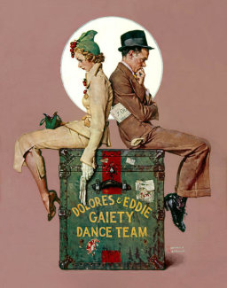 Norman Rockwell - Gaiety Dance Team