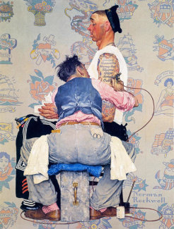 Norman Rockwell - Tattoo Artist