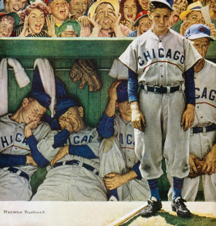 Norman Rockwell - The Dugout
