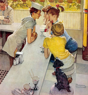 Norman Rockwell - Soda Jerk
