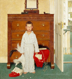 Norman Rockwell - The Discovery
