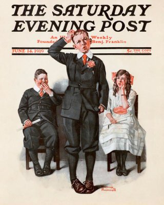 Norman Rockwell - Recitation