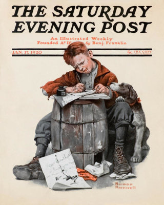 Norman Rockwell - Pen Pals, 1920