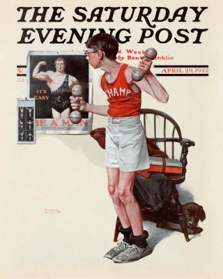 Norman Rockwell - Be a Man, 1922