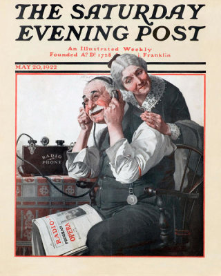 Norman Rockwell - Wonders of Radio, 1922
