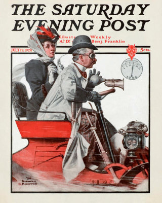 Norman Rockwell - Speeding Along