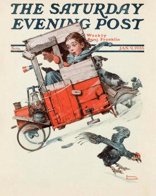 Norman Rockwell - Soap Box Racer, 1926