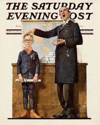 Norman Rockwell - First in His Class, 1926