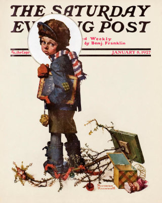 Norman Rockwell - Back to School, 1927