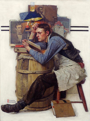 Norman Rockwell - Law Student (Young Lawyer), 1927