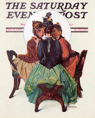 Norman Rockwell - Three Gossips