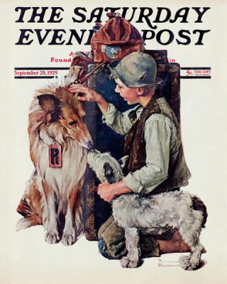 Norman Rockwell - Making Friends