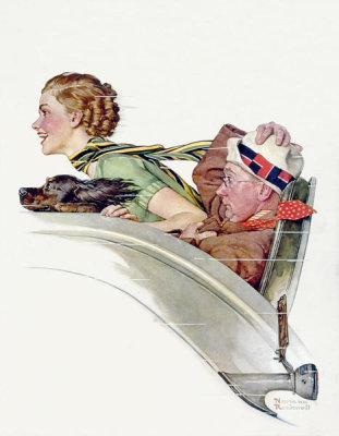 Norman Rockwell - Rumble Seat