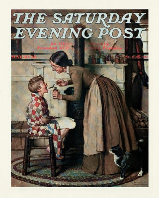 Norman Rockwell - Take Your Medicine