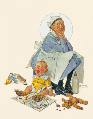 Norman Rockwell - The Nanny