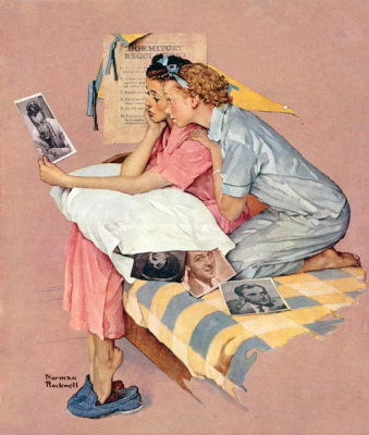 Norman Rockwell - Dreamboats, 1938